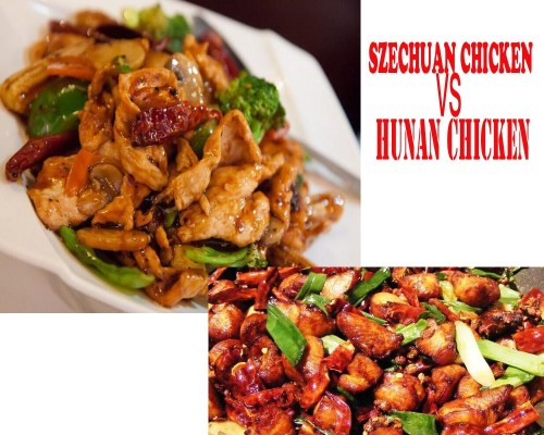 Szechuan-Chicken-VS-Hunan-Chicken
