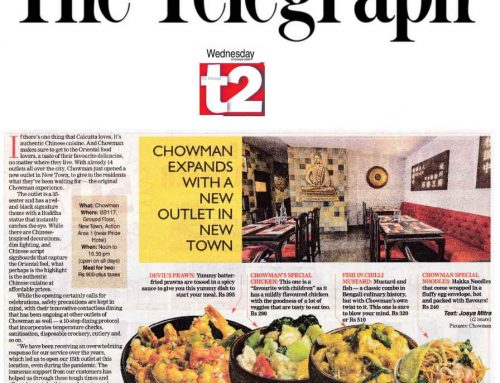 Chowman's New Outlet at Newtown!