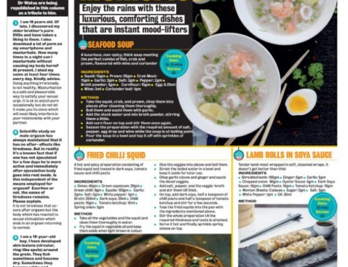 Indulge into Monsoon mood with this delicious recipes from Chowman